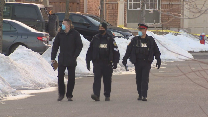 Peel police are investigating after an overnight shooting in Brampton left a man with critical injuries.