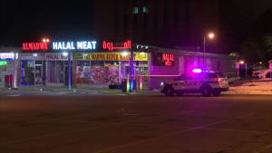 Police are investigating a robbery and stabbing in Mississauga that sent one man to hospital.