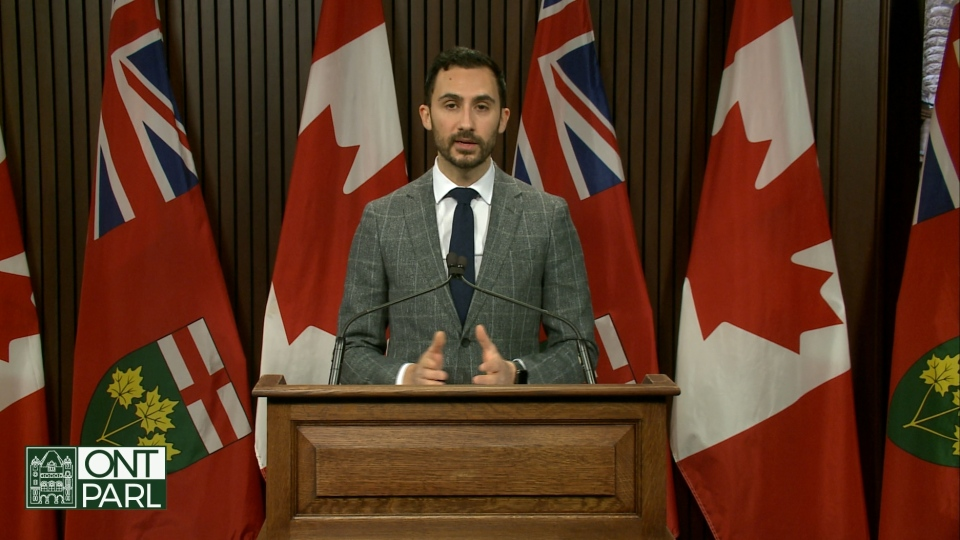 Education minister Stephen Lecce announces reforms to child care programs which aim to make them more accessible for parents amid the coronavirus pandemic.
