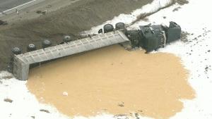 Bradford, crash