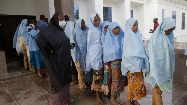 School girls freed