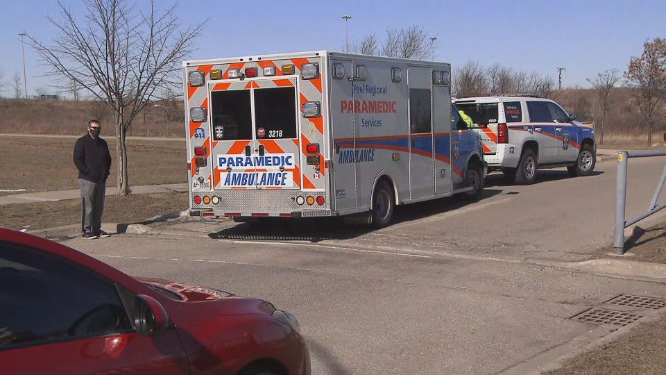 Paramedics were called to the scene and assessed both of them for frostbite and hypothermia but they did not require transport to hospital.