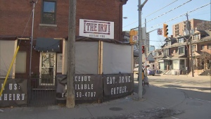 The Irv, a restaurant in Cabbagetown, is seen in this undated photo.