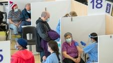Ontario vaccine clinic