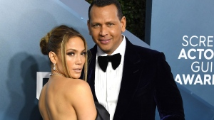 Jennifer Lopez and Alex Rodriguez, seen here at the 26th Annual Screen Actors Guild Awards on January 19, 2020 in Los Angeles, California, are going their separate ways. (Steve Granitz/WireImage/Getty Images via CNN)