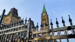 Parliament Hill is seen in this photo taken on March 24, 2021. (Photo by CTV News' Jeff Denesyk)