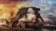 "This image released by Warner Bros. Entertainment shows a scene from ""Godzilla vs. Kong."" (Warner Bros. Entertainment via AP)"