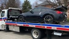 Impounded vehicle