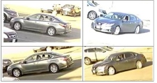 Vehicle used by suspect