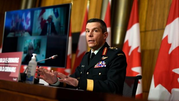 Maj. Gen Dany Fortin