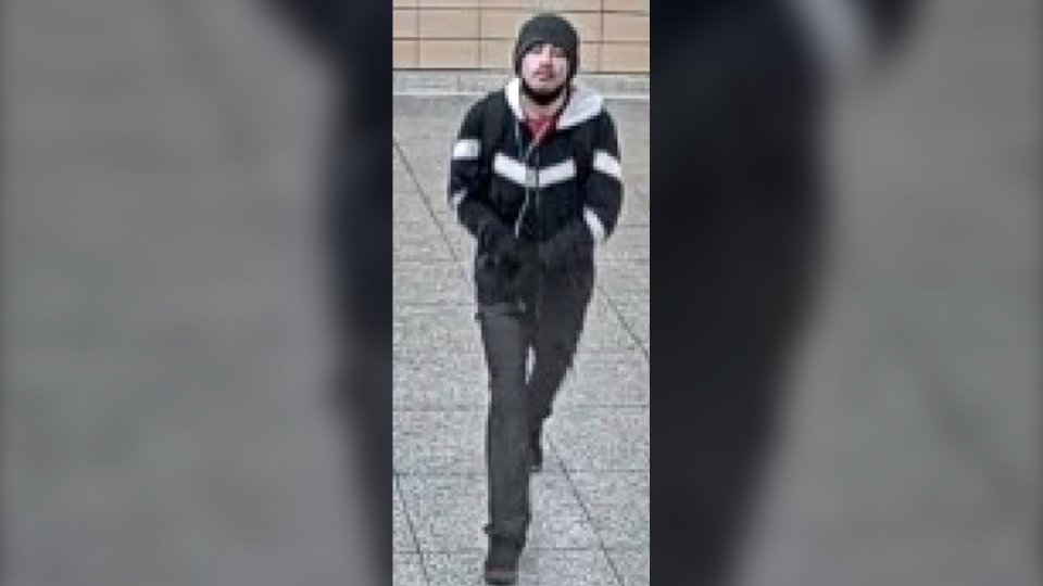 Toronto police are seeking a suspect in a string of suspected hate crimes at various TTC subway stations. (Toronto Police Service)
