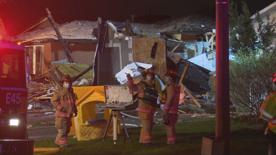 The Office of the Fire Marshal is investigating after an explosion at a home on Hamilton's west mountain Friday night.