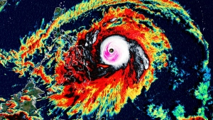 Surigae continues to strengthen, becoming the first super typhoon of the season. (CNN Weather)