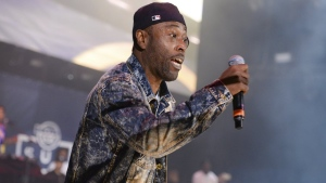 Black Rob performs at the 2015 Hot 97 Summer Jam on June 7, 2015, in East Rutherford, N.J. (Photo by Scott Roth/Invision/AP, File)