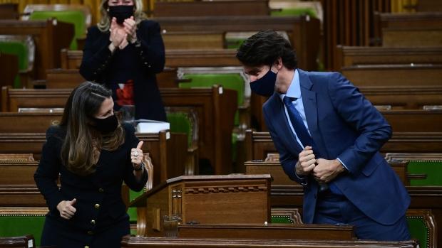 Freeland and Trudeau