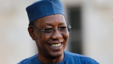 Chad's President Idriss Deby Itno in 2020