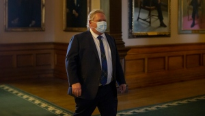 Ontario Premier Doug Ford isolating in Toronto after staffer tests positive for COVID-19