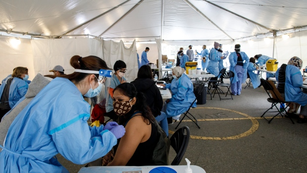 Toronto pop-up vaccine clinic