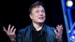 "Elon Musk, seen here in Washington, DC, on March 9, 2020, will host the NBC variety show ""Saturday Night Live,"" in May. (Brendan Smialowski/AFP/Getty Images via CNN)"
