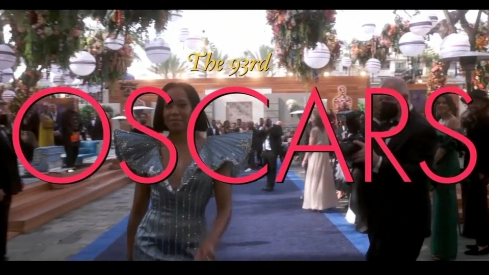 In this video image provided by ABC, Regina King is seen at the opening of the 93rd Academy Awards on Sunday, April 25, 2021. (ABC via AP)
