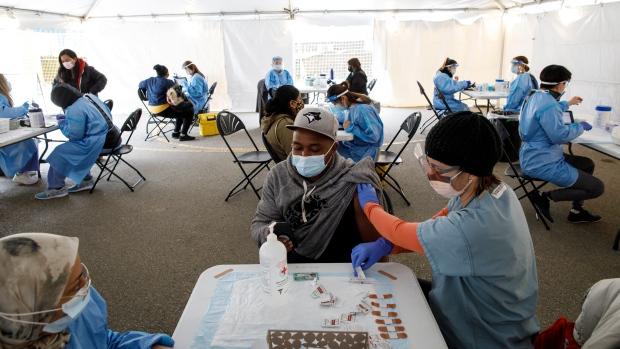 Toronto vaccine clinic