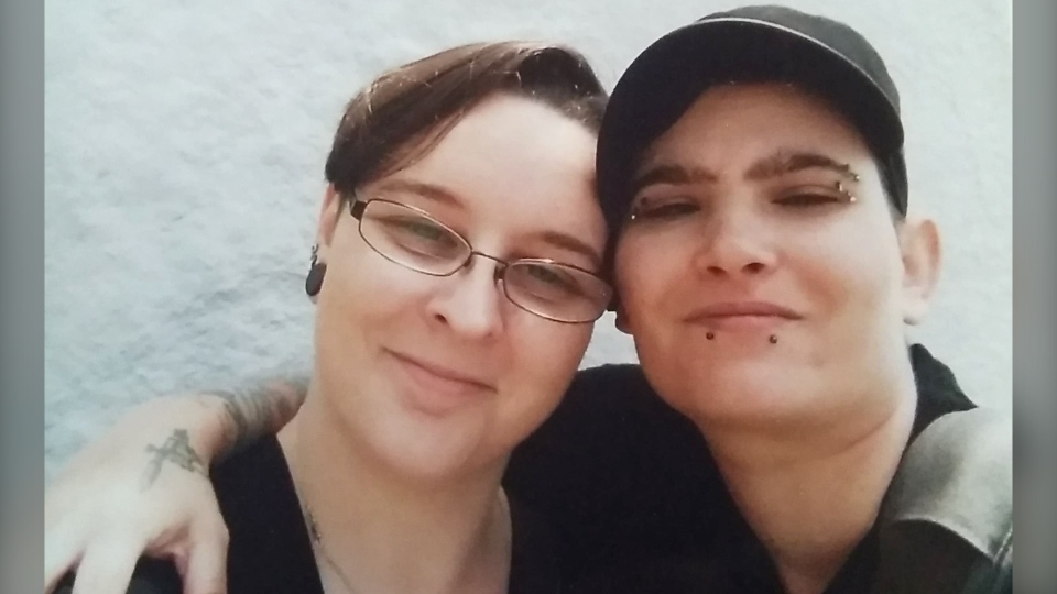 Lee Larabie, right, and her wife Rebecca, shown in this undated handout image, had been dreaming of escaping Toronto for years, rattling off reasons for ditching the hustle and bustle of big-city life whenever the conversation came up. The worsening COVID-19 pandemic helped cement their decision to move to Nova Scotia this summer. THE CANADIAN PRESS/HO-Lee Larabie *MANDATORY CREDIT*