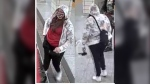 Police are searching for this woman in connection with a stabbing at Bloor-Yonge Station that left a 17-year-old boy with injuries.