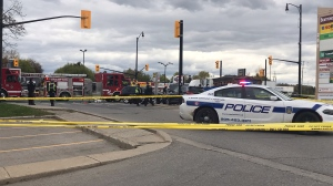Police are investigating a fatal collision in Brampton. (CP24/Simon Sheehan)