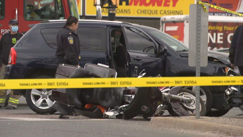 Peel police are investigating a fatal collision in Brampton.
