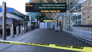 Police are investigating a shooting outside the Vancouver International Airport. (CTV)