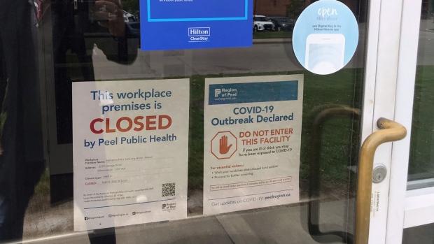 Quarantine hotel outbreak