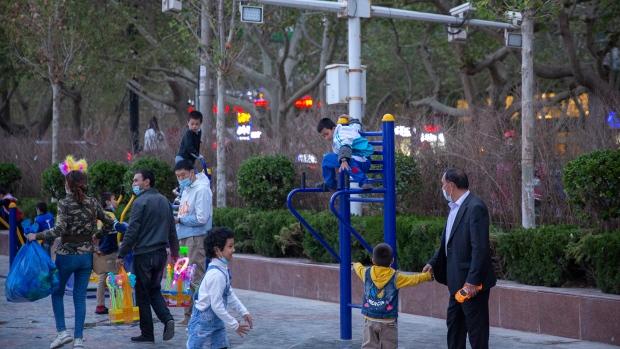Xinjiang kids