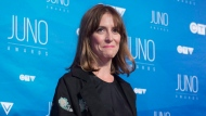 Feist poses on the red carpet at the Juno awards show, Sunday, April 2, 2017 in Ottawa. THE CANADIAN PRESS/Justin Tang