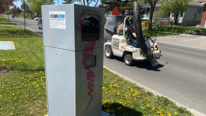 A speed camera in Toronto is seen on May 14. (John Musselman)