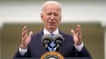 President Joe Biden speaks in the Rose Garden of the White House, Thursday, May 13, 2021, in Washington. (AP Photo/Evan Vucci)
