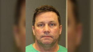 Brent Tetlock, 55, of Hamilton has been charged in connection with a Toronto police indecent act investigation. (Toronto Police Service)