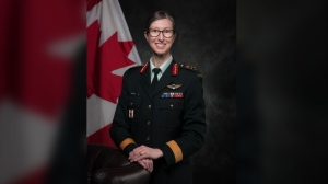 Brig.-Gen. Krista Brodie is seen in an undated handout image. The federal Liberal government is enlisting another military officer to oversee Canada's COVID-19 vaccination campaign. The Public Health Agency of Canada says Brig.-Gen. Brodie will lead the campaign after Maj.-Gen. Dany Fortin was forced to step aside due to a military investigation. THE CANADIAN PRESS/HO-Public Health Agency of Canada, *MANDATORY CREDIT*