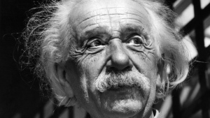 FILE - This June, 1954, file photo shows renowned physicist Albert Einstein in Princeton, N.J. (AP Photo, File)