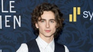 """Actor Timothee Chalamet attends the premiere of """"Little Women"""" in New York on Dec. 7, 2019. Chalamet will play Willy Wonka in a musical based on the early life of the eccentric chocolatier. Warner Bros. said the film will """"focus on a young Willy Wonka and his adventures prior to opening the world's most famous chocolate factory."""" (Photo by Evan Agostini/Invision/AP, File)"""