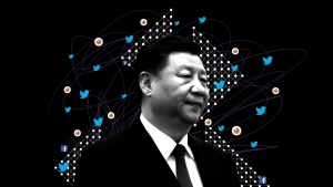 A seven-month investigation by the Associated Press and the Oxford Internet Institute, a department at Oxford University, found that China's rise on Twitter has been powered by an army of fake accounts that have retweeted Chinese diplomats and state media tens of thousands of times, covertly amplifying propaganda that can reach hundreds of millions of people - often without disclosing the fact that the content is government-sponsored. (AP Illustration/Peter Hamlin)