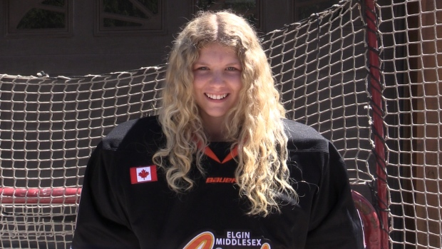 OHL prospect Taya Currie