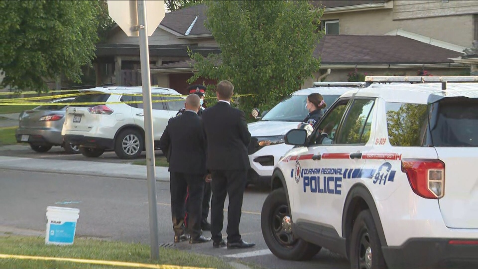 Police are investigating a fatal shooting in Ajax on Wednesday morning.