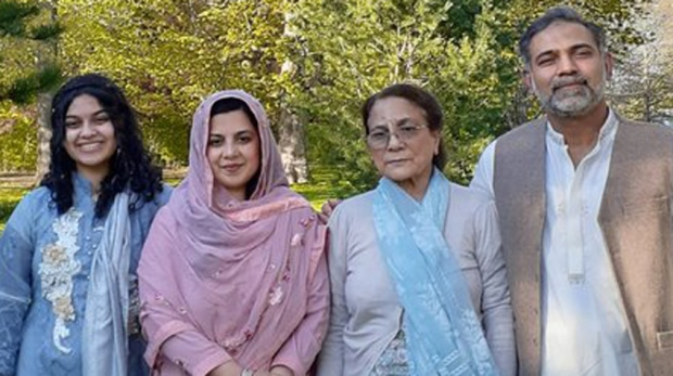 A statement released to the media by a family spokesperson names the deceased as Salman Afzaal, his wife Madiha, their daughter Yumna and Salman Afzaal's mother.
