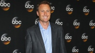 """Chris Harrison attends the Disney/ABC Television Group 2014 Summer TCA on July 15, 2014, in Beverly Hills, Calif. Harrison is stepping aside as host of """"The Bachelor"""" franchise. (Photo by Paul A. Hebert/Invision/AP, File)"""