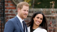 Prince Harry and Meghan, Duchess of Sussex have denied a report in the British media that they did not ask the Queen about naming their daughter Lilibet, after the monarch's childhood nickname. (Chris Jackson/Getty Images)