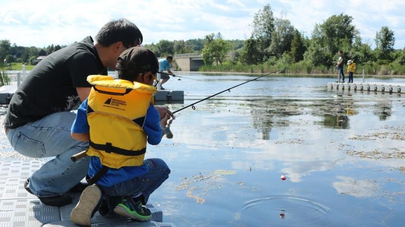 licence-free fishing