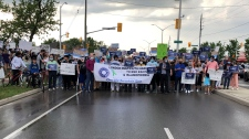 Multi-faith march