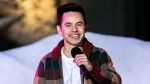 David Archuleta, seen here performing at the 88th Annual Hollywood Christmas Parade in 2019, says he is part of the LGBTQIA+ community. (John Wolfsohn/Getty Images via CNN)