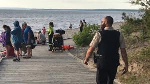 OPP recover a missing 21-year-old man (David Sullivan/CTV News)