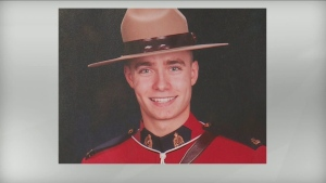Const. Shelby Patton was struck and killed by a truck he pulled over in rural Saskatchewan on Saturday morning.